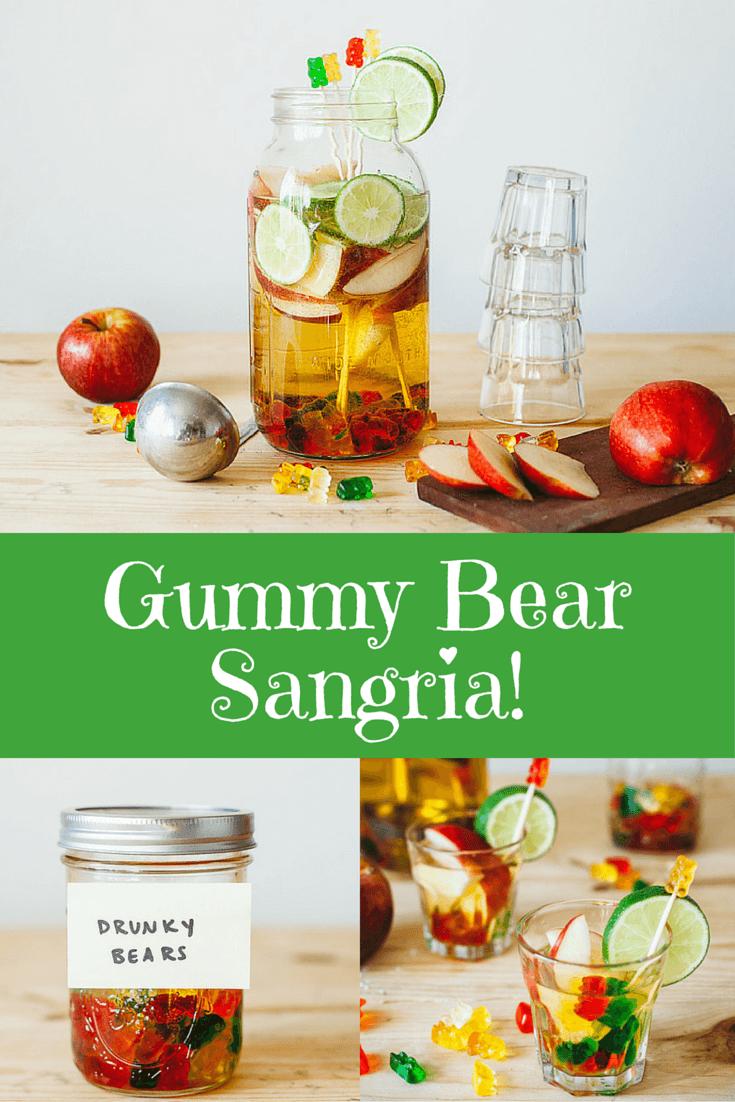 Gummy Bear Sangria!